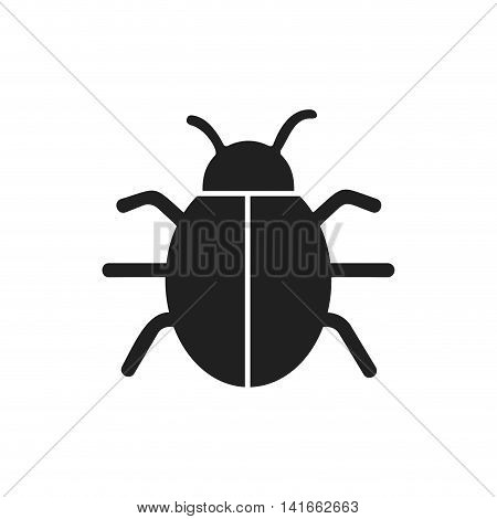 bug insect infection parasite icon. Isolated and flat illustration. Vector graphic
