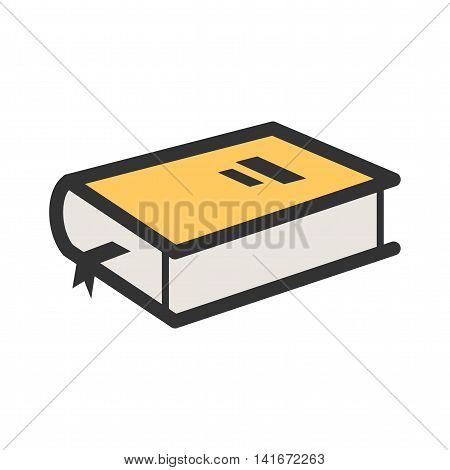 Book, diary, open icon vector image. Can also be used for hipster. Suitable for web apps, mobile apps and print media.