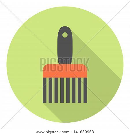 Painting Work Brush Flat Icon