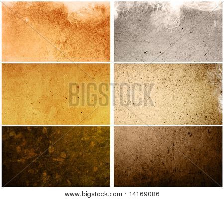 grunge old-fashioned  - containing different textures