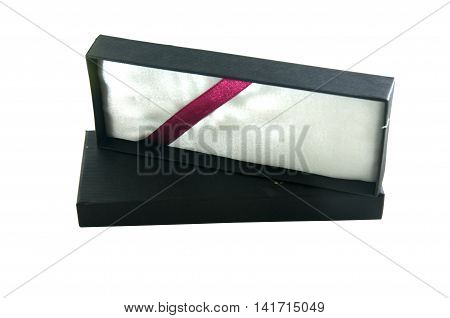 black old box isolated on white background