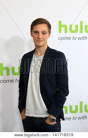 LOS ANGELES - AUG 5:  Jonas Nay at the HULU TCA Summer 2016 Press Tour at the Beverly Hilton Hotel on August 5, 2016 in Beverly Hills, CA