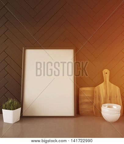 Modern Kitchen Counter