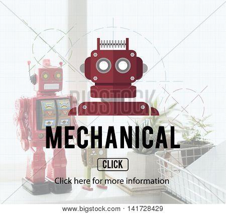 Robot Cyborg AI Robotics Android Concept poster