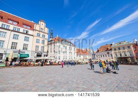 Tallinn, Estonia. Raekoja Plats