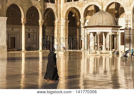 Great Mosque Of Damascus, Syria