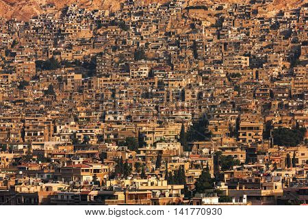 Landscape Of Damascus Before The Civil War, Syria