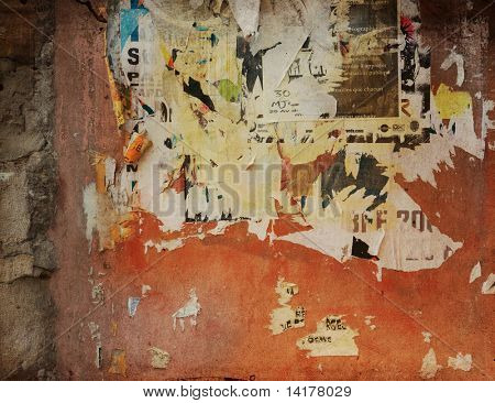 highly Detailed advertise textured grunge background