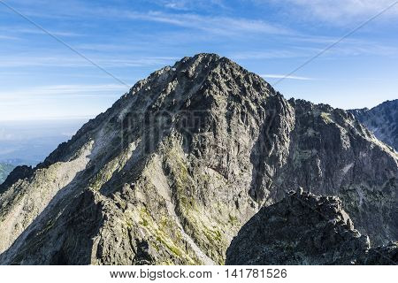 Summit - Lodowa Kopa (ladova Kopa, Maly Ladovy Stit).