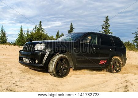 Jeep Grand Cherokee Srt-8