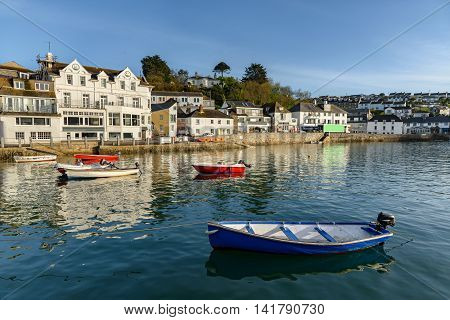 St Mawes is a small town opposite Falmouth on the Roseland Peninsula on the south coast of Cornwall England United Kingdom.