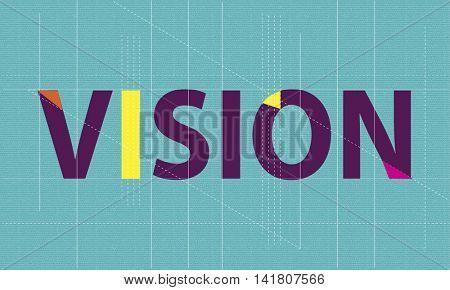 Visual Vision Imagination Graphic Concept