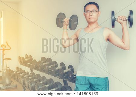 Training In The Gym
