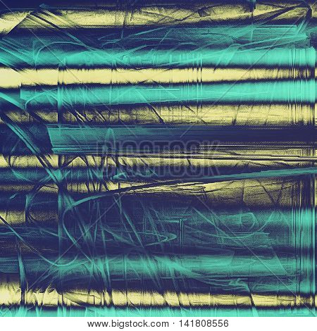 Grunge background for a creative vintage style poster. With different color patterns: yellow (beige); gray; blue; cyan