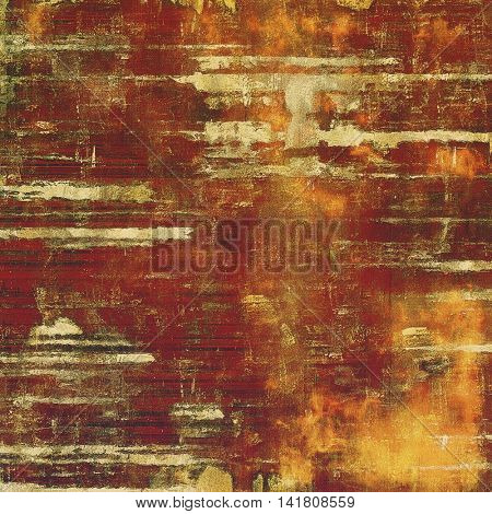 Vintage design background - Grungy style ancient texture with different color patterns: yellow (beige); brown; gray; red (orange); purple (violet); pink