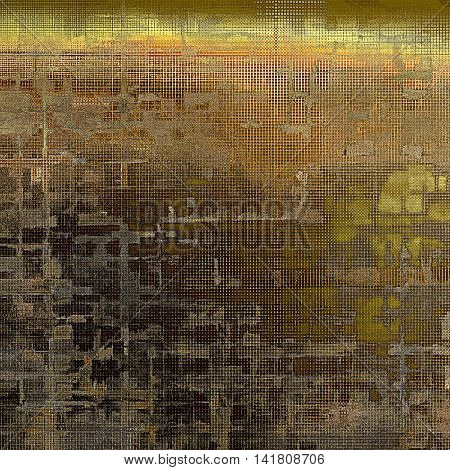 Grunge antique frame, vintage style background. With different color patterns: yellow (beige); brown; gray; red (orange)