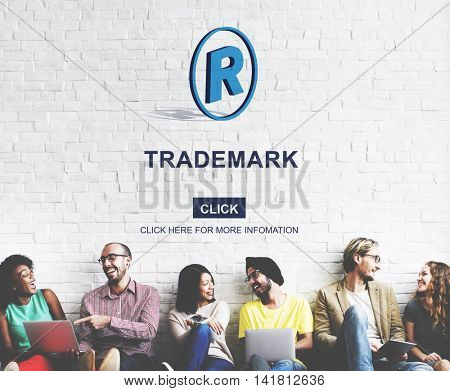 Trademark Brand Rights Protection Copyright Concept