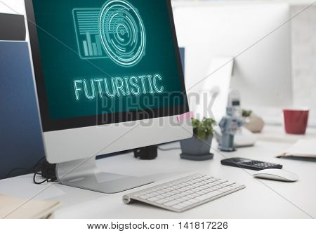 Technology Digital Innovation Futuristic Advanced Concept