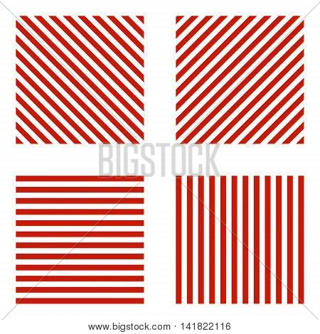 Sign limiting the size, red stripes on the diagonal of horizontal, vertical, vector for print or website design