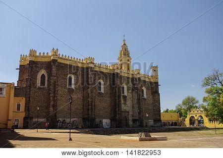 Saint Gabriel Archangel Friary (convento De San Gabriel), Cholula, Puebla, Mexico