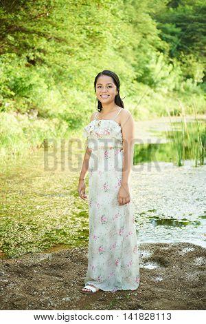 Young Hispanic Girl
