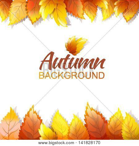 Autumn Background Template