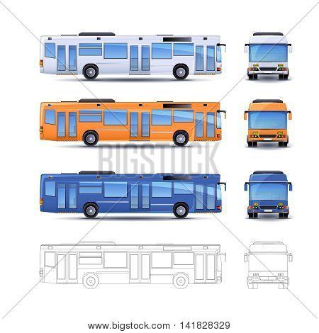 City Bus Illustration
