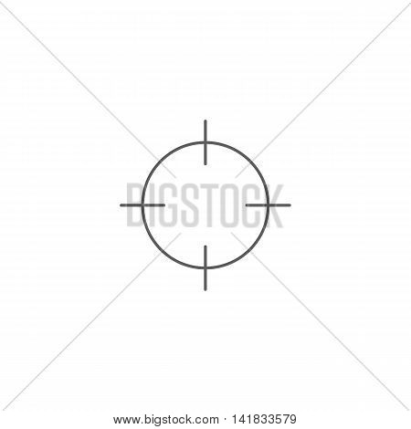 Vector illustration of screenshot icon on white background. Simple black symbol. Eps10 format vector.