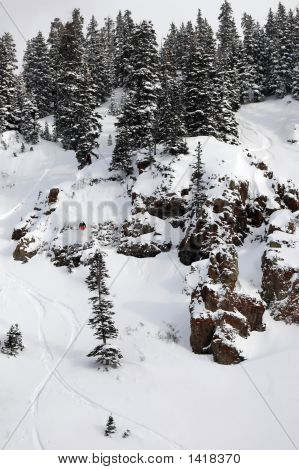 Johnny Stifter Red Mtn Pass Feb 15 07 Huck 1