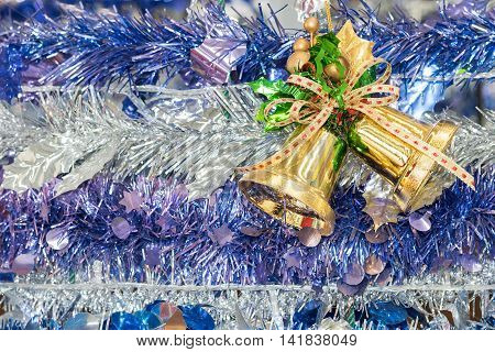 Christmas Bells For The Holiday Background