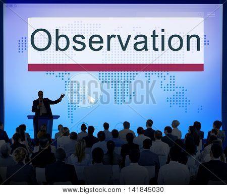 Observation Development Surveillance Vision Concept