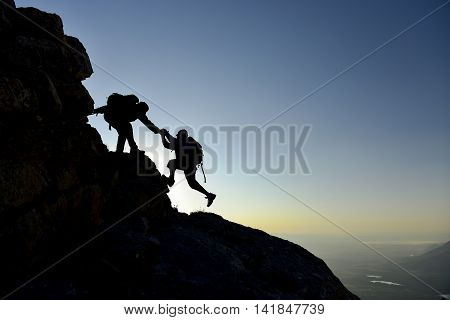 help and Support to climb the summit