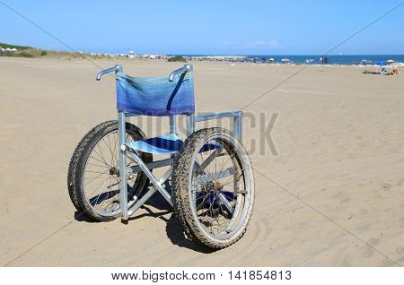 Modern Wheelchairs With Special Wheels With Double Tires