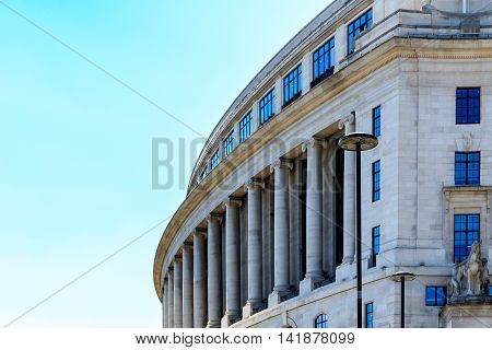 Office Building In The Neoclassical Art Deco Style