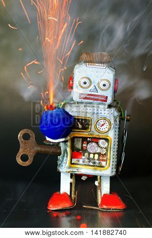 robot and sparkes