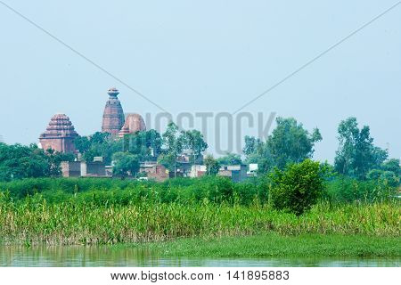 The temple of Madan-Mohan in Vrindavan, India