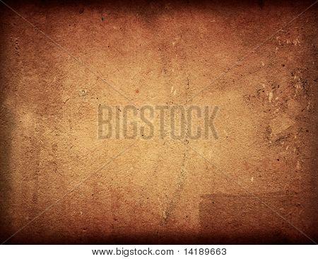 Bruin grungy muur - texturen voor uw ontwerp