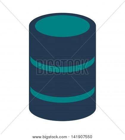 flat design cd storage icon vector illustration