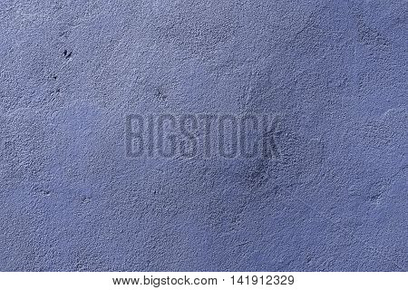 Plaster, plaster texture, plaster background. Old brick wall with plaster, photo texture, seamless background, blue, plaster closeup