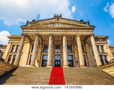 Konzerthaus Berlin In Berlin Hdr