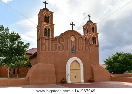 San Miguel De Socorro Mission - New Mexico