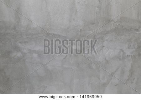 surface of polished cement wall for the design texture background.