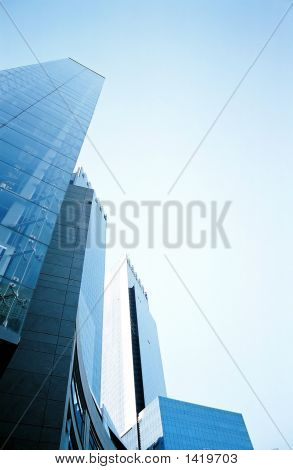 Glass Skyscrapers, New York