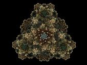 Julia complex fractal is a complex mathematical structure poster