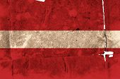 flag of austria poster