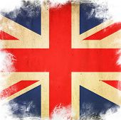 flag of united kingdom poster