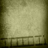 Great film strip for textures and backgrounds-with space for your text and image poster