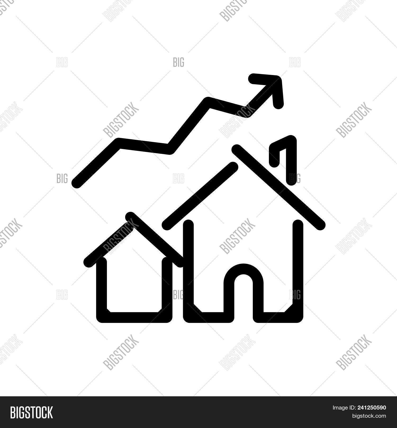 House Prices Uplift Vector Photo Free Trial Bigstock