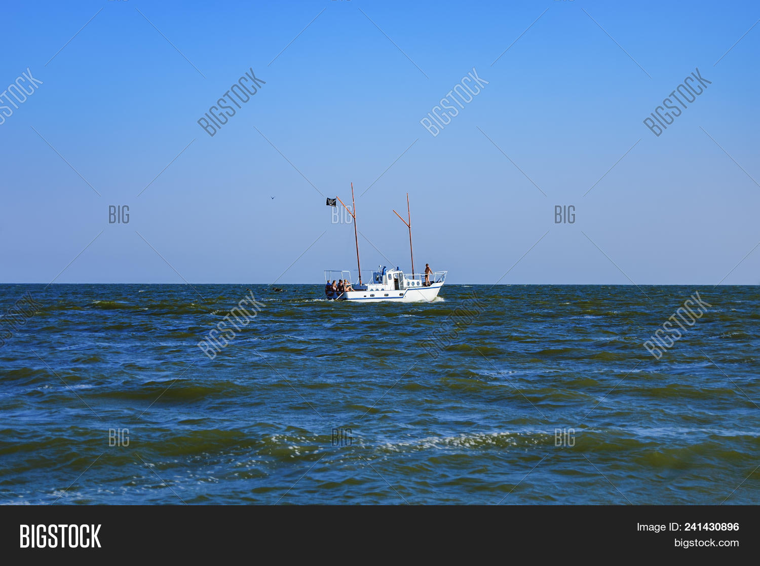 Small Boat Tourists On Image & Photo (Free Trial) | Bigstock