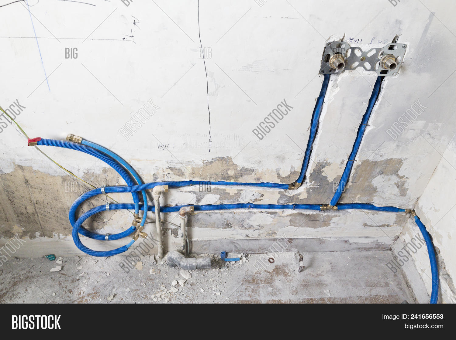 Water Pipes Made Image & Photo (Free Trial) | Bigstock